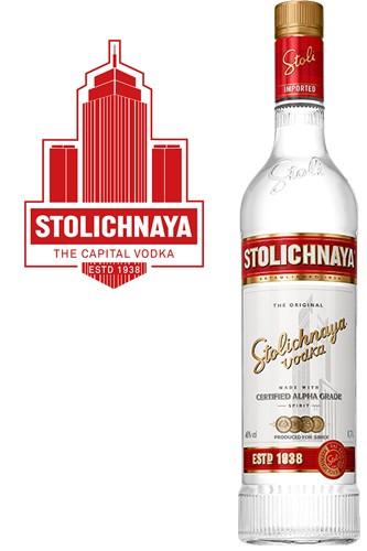 Stolichnaya Vodka 0,7 Liter