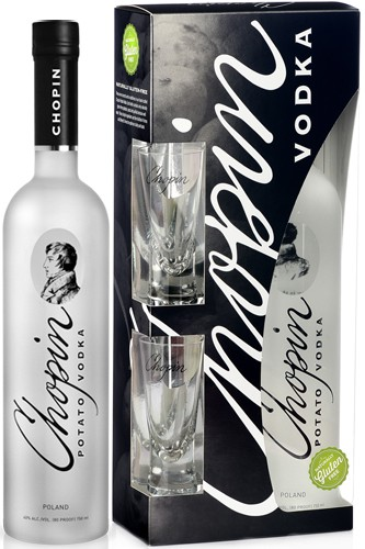 Chopin Potato Vodka Geschenkset