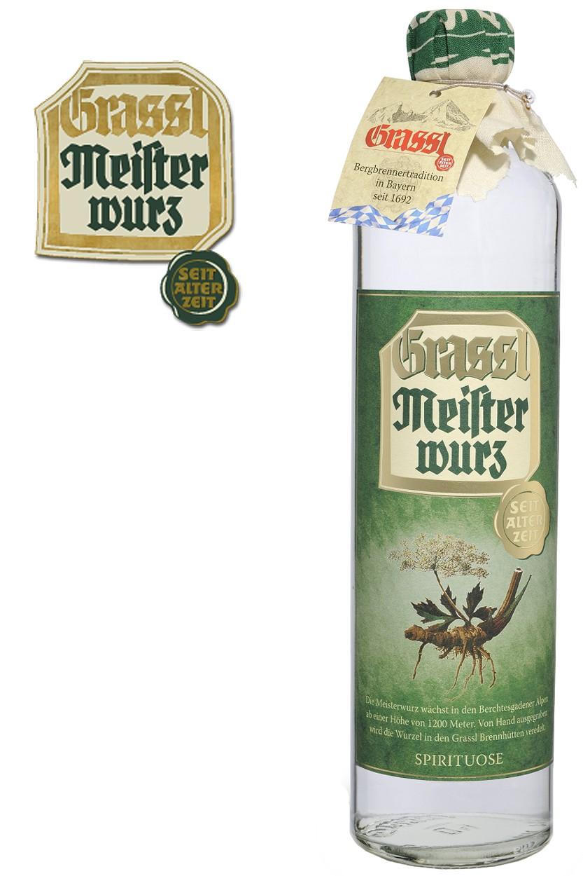 Grassl Meisterwurz - 40% Vol.
