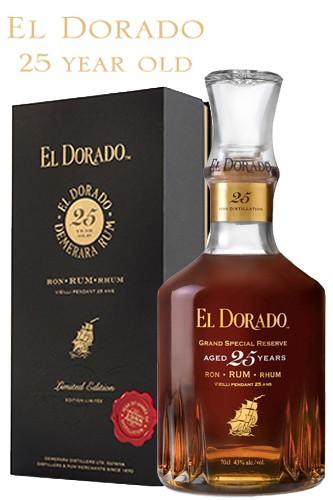 El Dorado 25 Jahre - Vintage 1988 Grand Special Rum