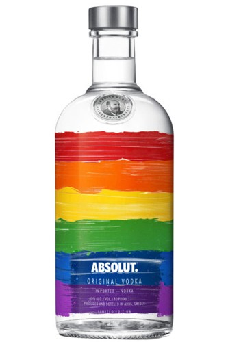 Absolut Rainbow - Limited Edition 1 Liter