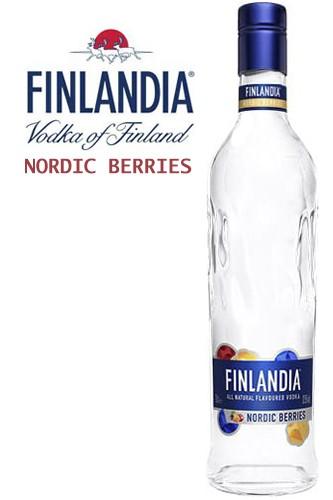 Finlandia Nordic Berries Vodka - 1 Liter