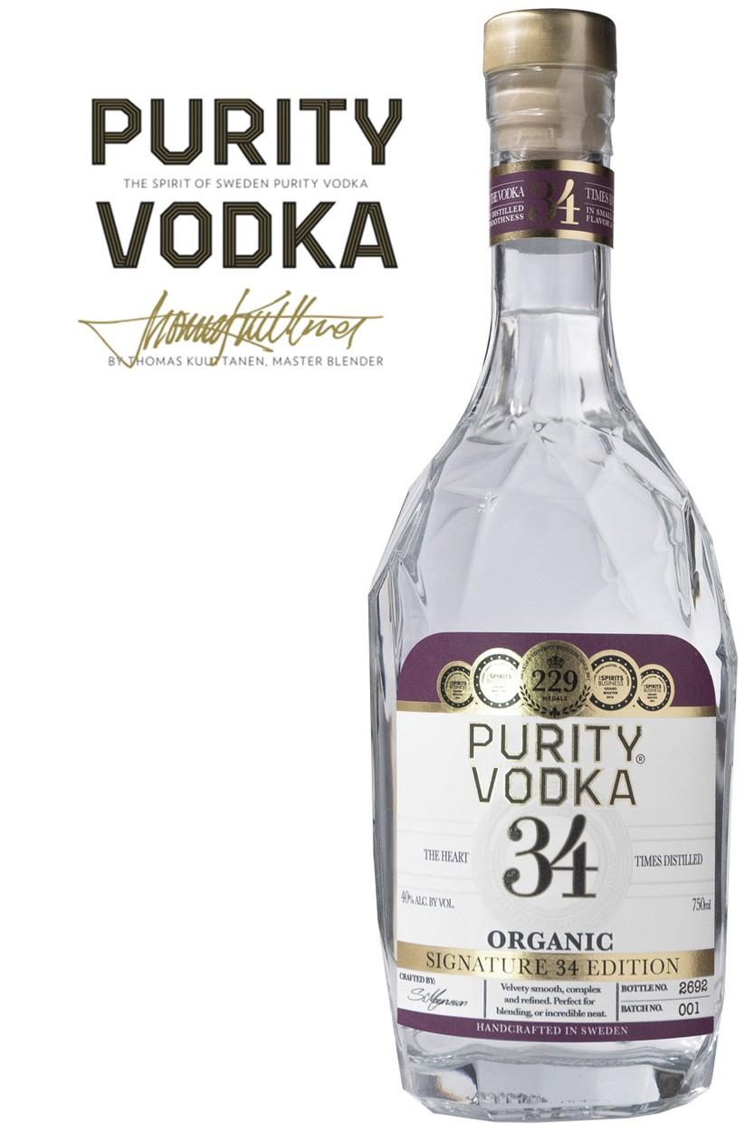 Purity Signature 34 Vodka - Neues Design