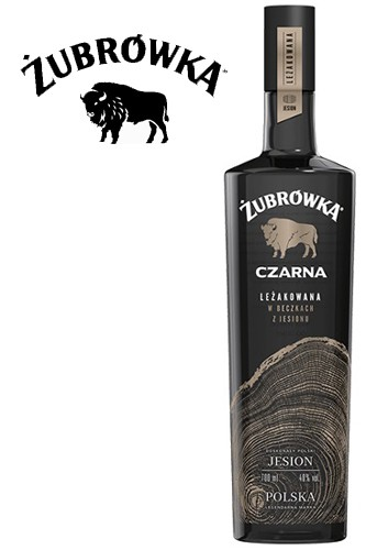 Zubrowka Black Czarna JESION Vodka