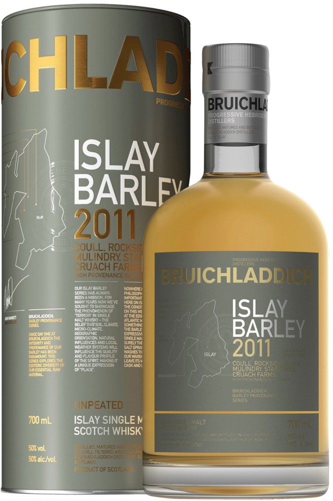 Bruichladdich Islay Barley 2011 - 50% Vol.
