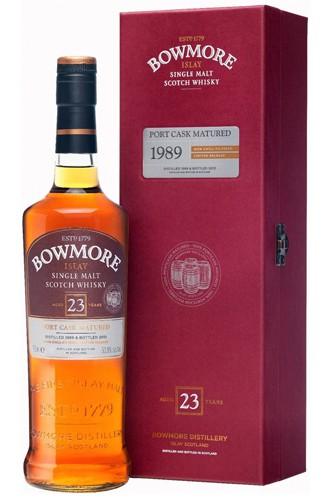 Bowmore 1989 - 23 Jahre Port Cask