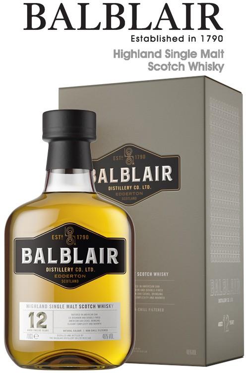 Balblair 12 Jahre - 46% Vol.
