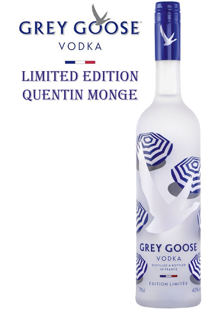 Grey Goose Vodka - Quentin Monge Limited Edition