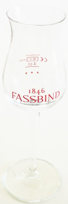 Fassbind Obstbrand Glas