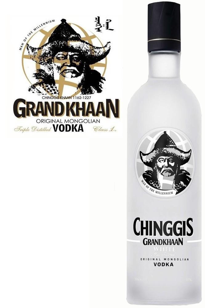 Chinggis Grand Khaan White Vodka
