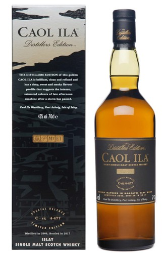 Caol Ila Distillers Edition 2005 - 2017