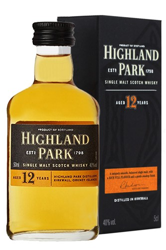 Highland Park 12 Jahre Miniatur