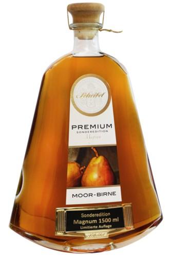 Scheibel Premium Moor Birne Magnum Flasche