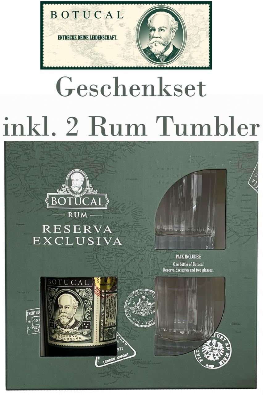 Botucal Reserva Exklusiva Rum Geschenkset