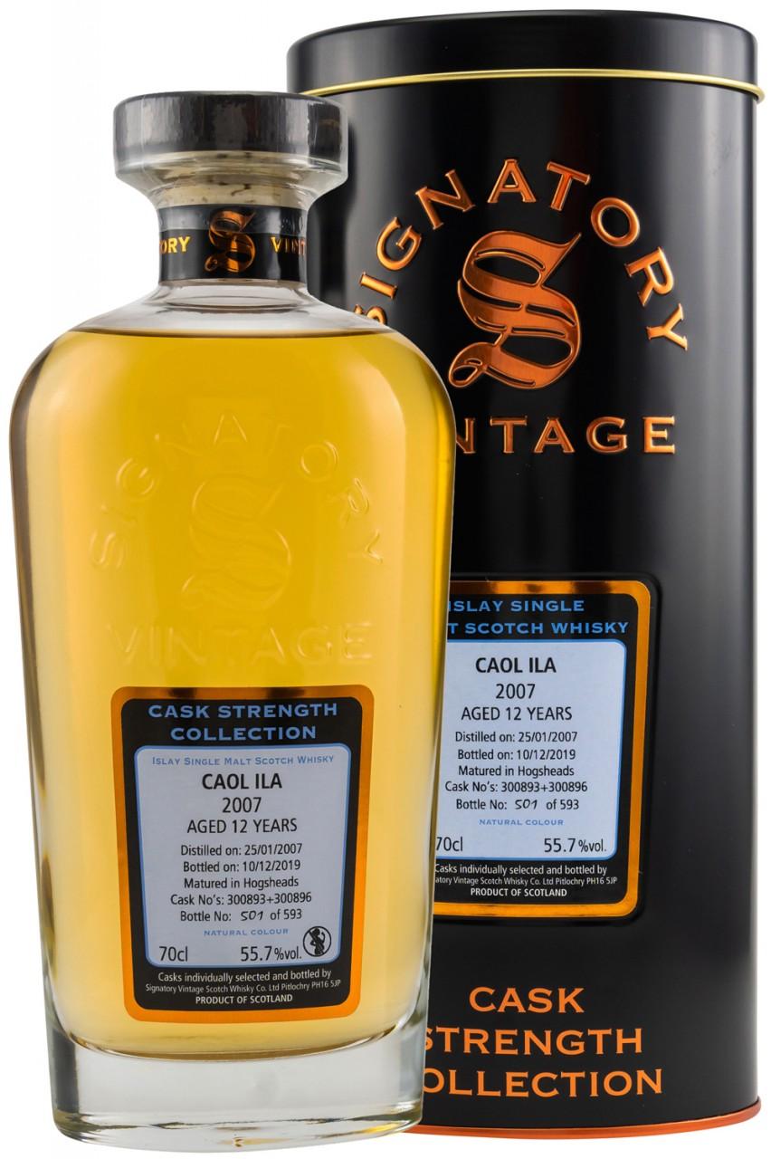 Caol Ila 2007 Signatory - 55,7 % Cask Strength
