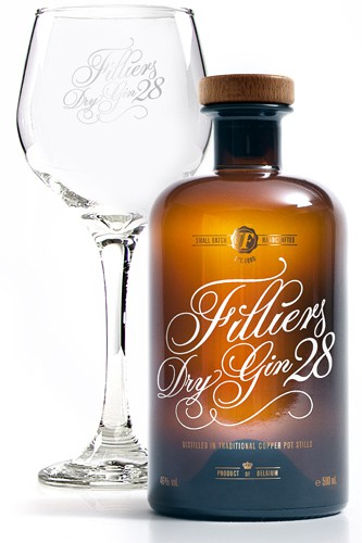 Filliers 28 Gin _ Glas