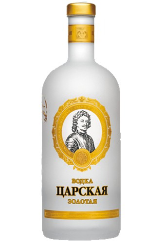 zarskaja gold 1 liter wodka vodka haus. Black Bedroom Furniture Sets. Home Design Ideas