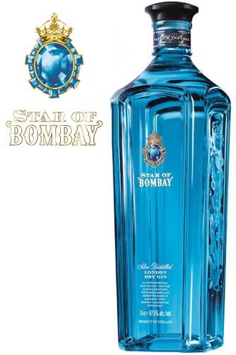 Bombay - Star of Bombay Gin - 1 Liter