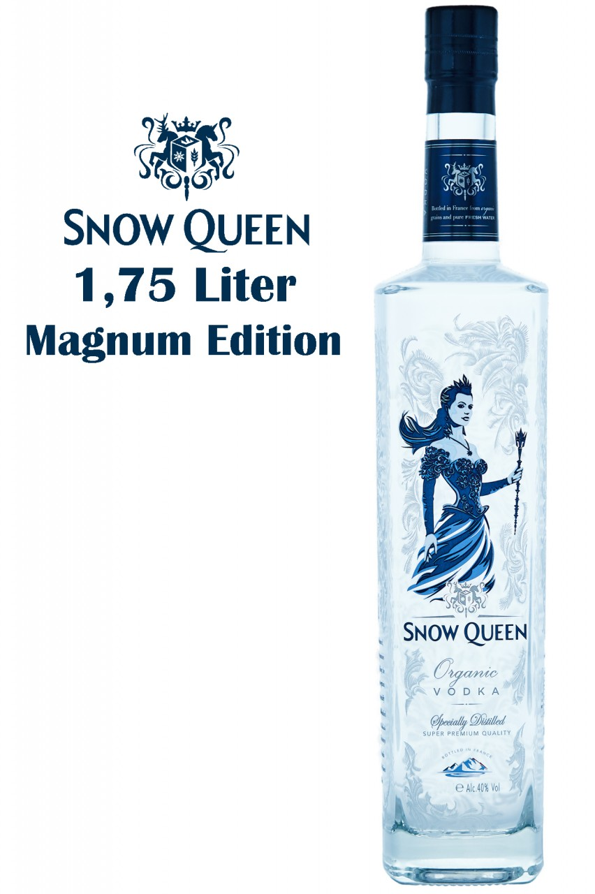 Snow Queen Vodka - 1,75 Magnum