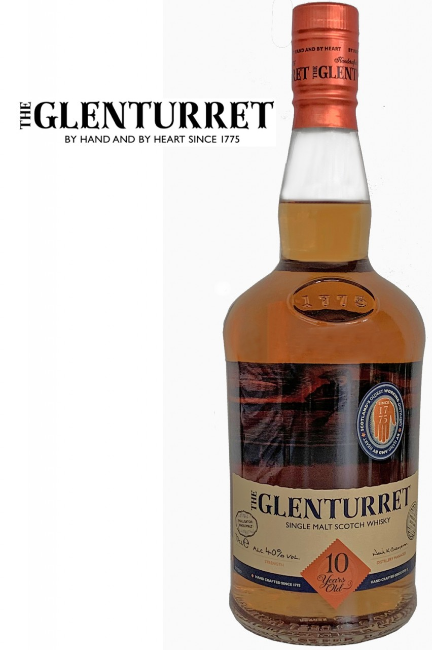 Glenturret 10 Jahre Single Malt Whisky