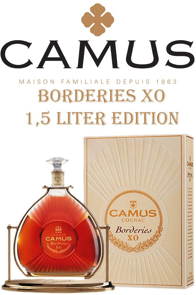 Camus XO Borderies Cognac - 1,5 Liter Magnum