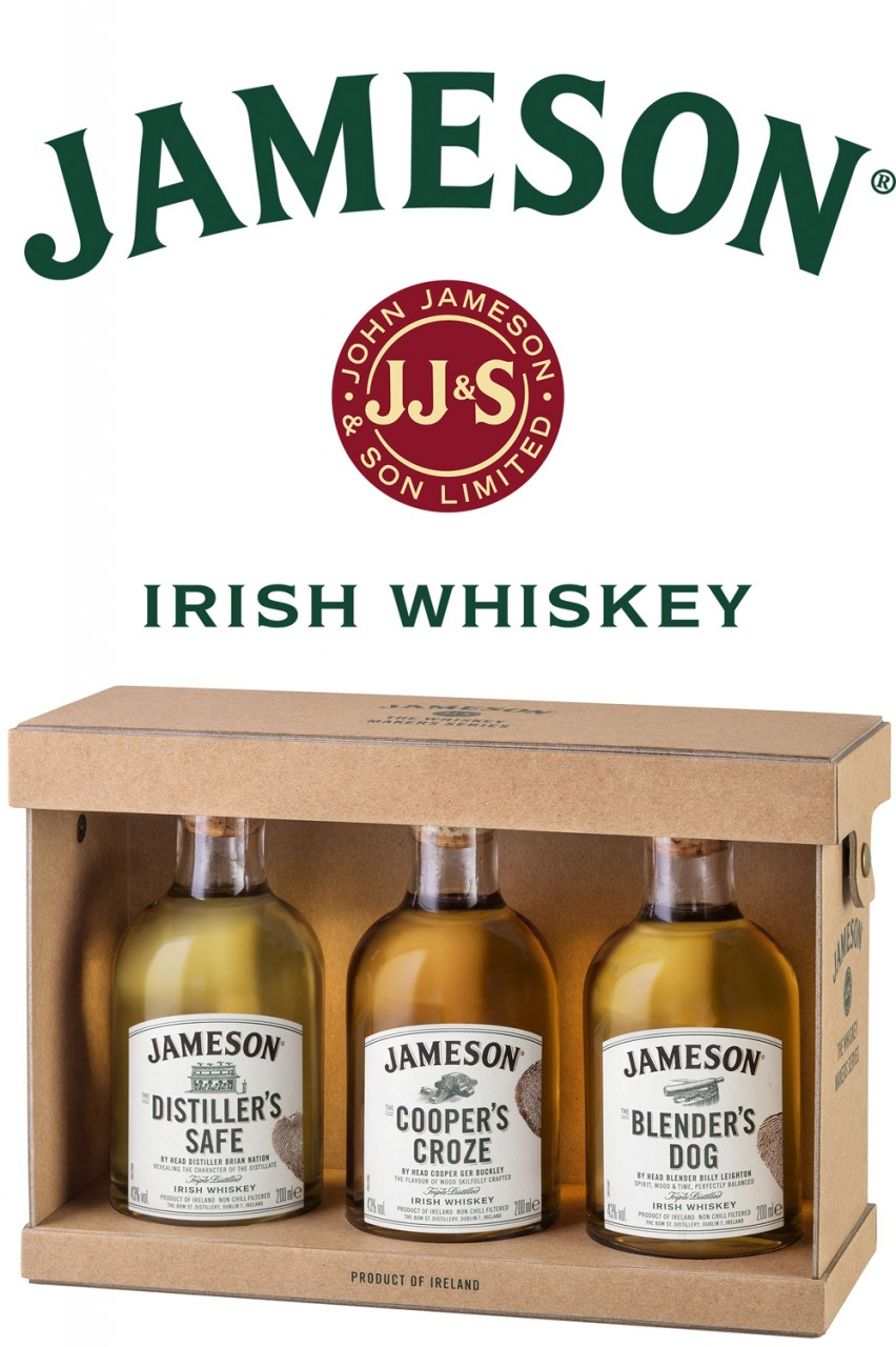 Jameson Master Selection - Triple Pack 3 x 200 ml