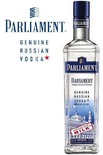 Parlaiment Vodka aus Russland