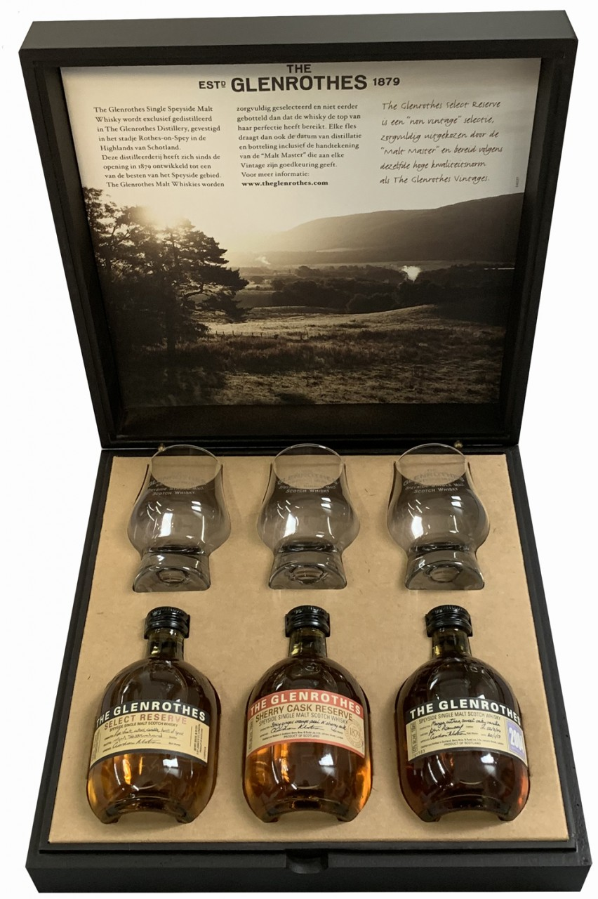 Glenrothes Whisky Tasting Set