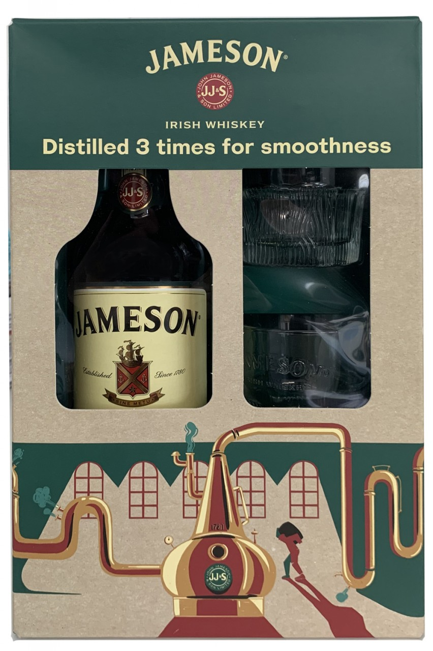 Jameson Irish Whiskey Geschenkset