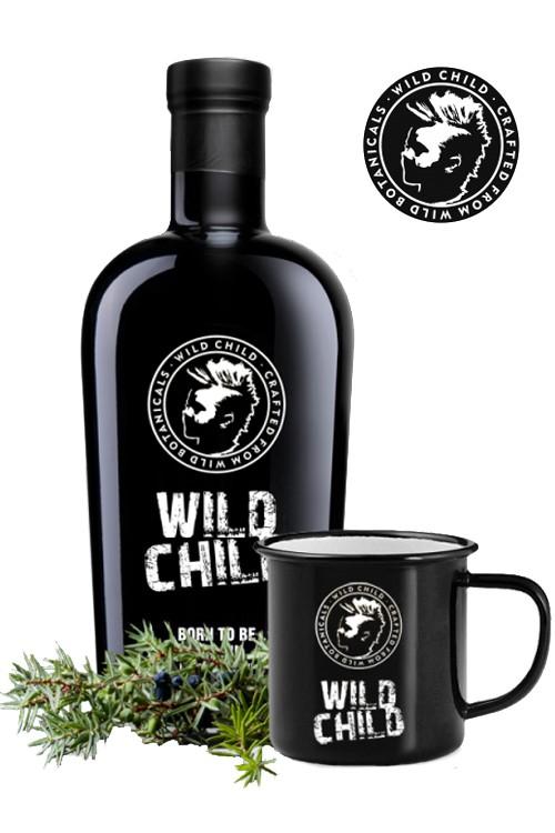 Wild Child Dry Gin & Metallbecher