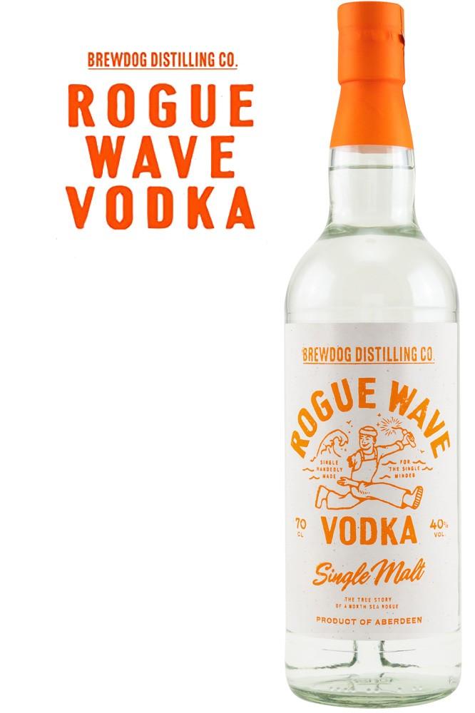 Rogue Wave Single Malt Vodka