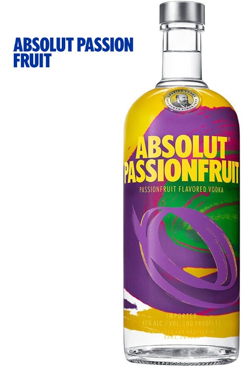 Absolut Passion Fruite Vodka - 1 Liter