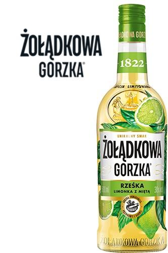 Zoladkowa Gorzka Limette & Minze