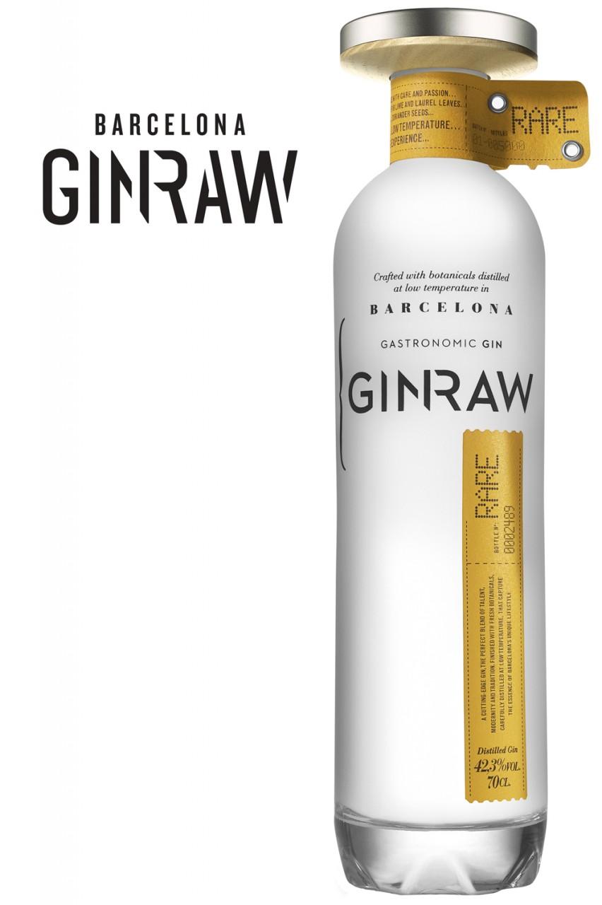 GinRaw Barcelona Gin