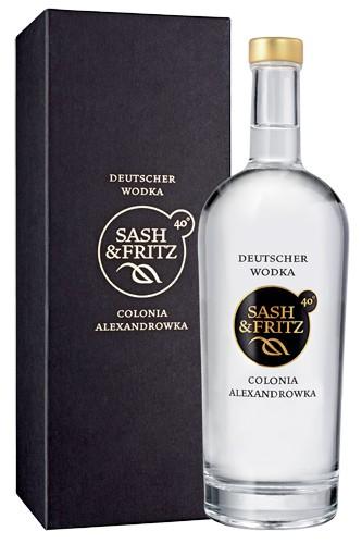 Sash & Fritz Vodka 0,7 Liter mit edler Box