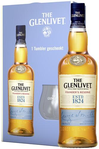 Glenlivet Founders Reserve Geschenkset
