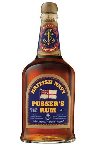 Pussers British Navy Rum