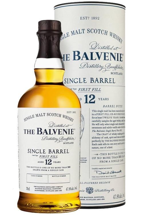 Balvenie 12 Jahre Single Barrel - First Fill Bourbon