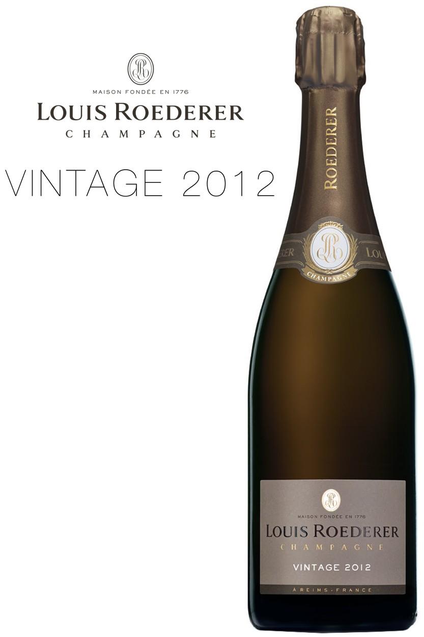Louis Roederer Brut Millésimé Vintage 2012