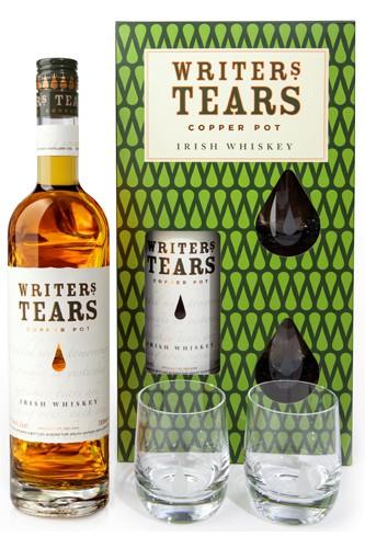 Writers Tears Irish Whiskey Geschenkset