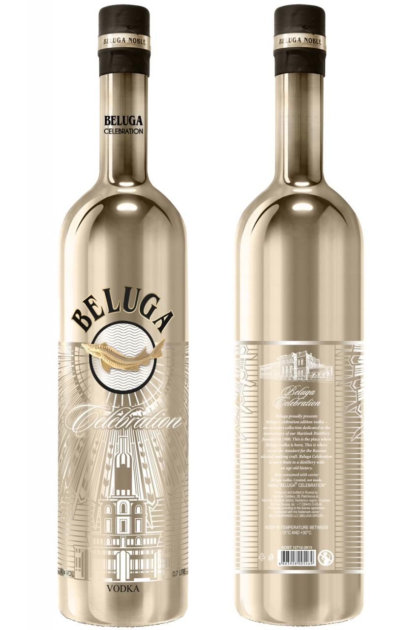 Beluga Celebration Vodka - 700 ML