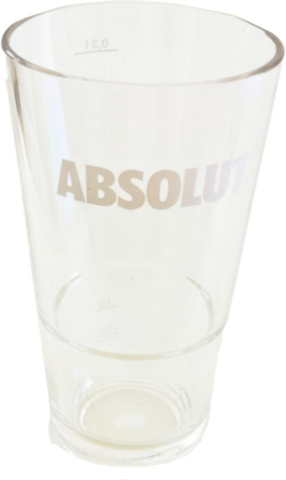 Absolut - Highball Glas Acryl