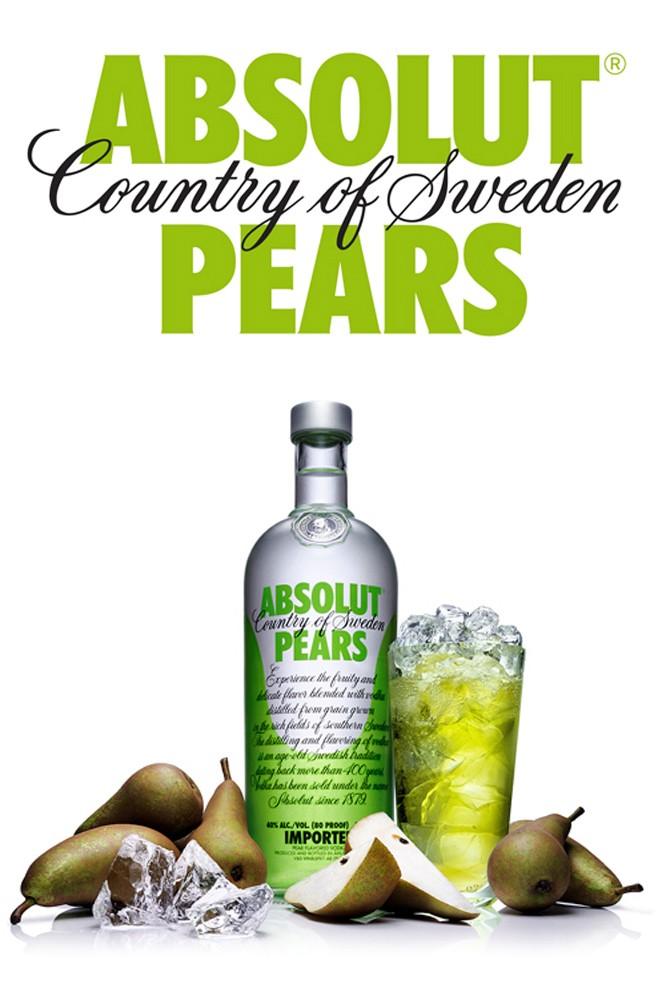 Absolut Pears Vodka - 1 Liter
