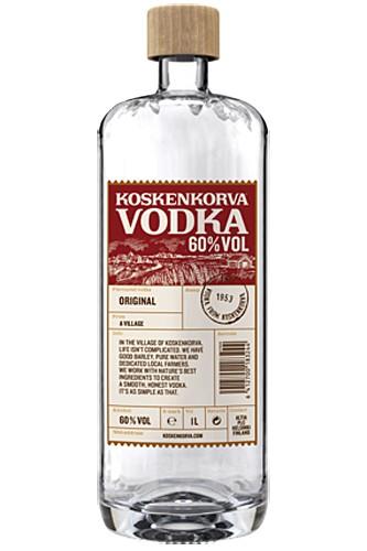 Koskenkorva Vodka 60% Neues Design