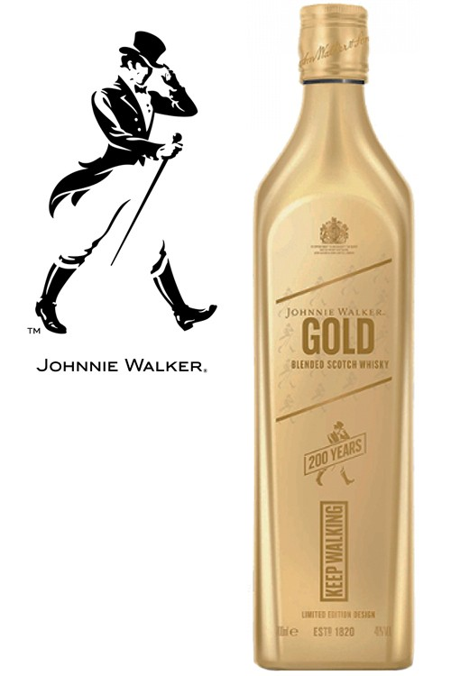 Johnnie Walker Gold Icon - Limited Edition