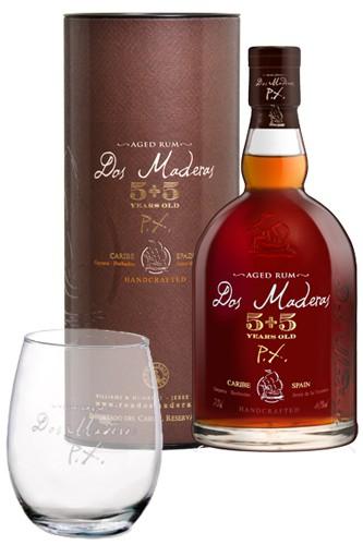 Dos Maderas 5+5 mit Rum Tumbler