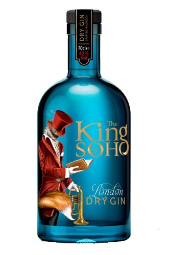 King-of-Soho-Gin-Flasche