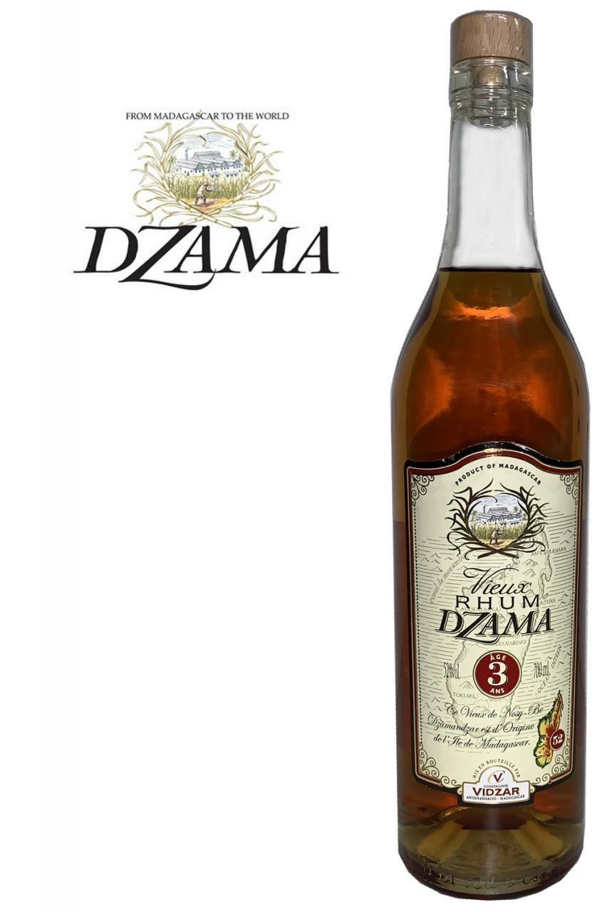 Dzama Vieux 3 Jahre Rum