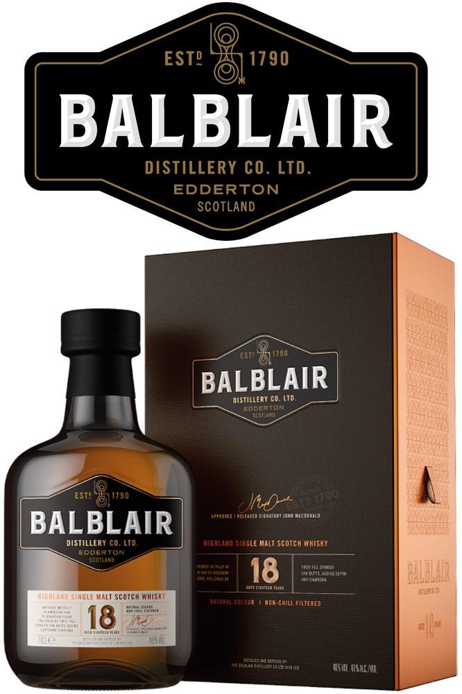 Balblair 18 Jahre - 46% Vol.