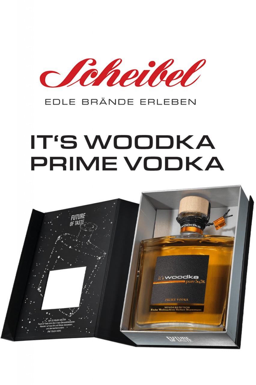 Scheibel It's Woodka in Geschenkbox